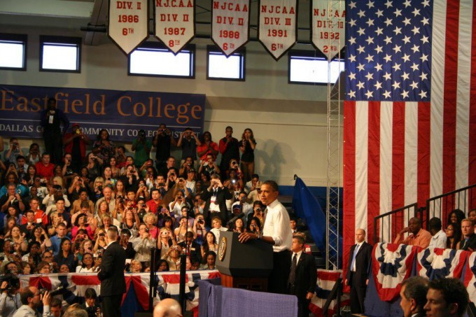 President Obama at Eastfield College