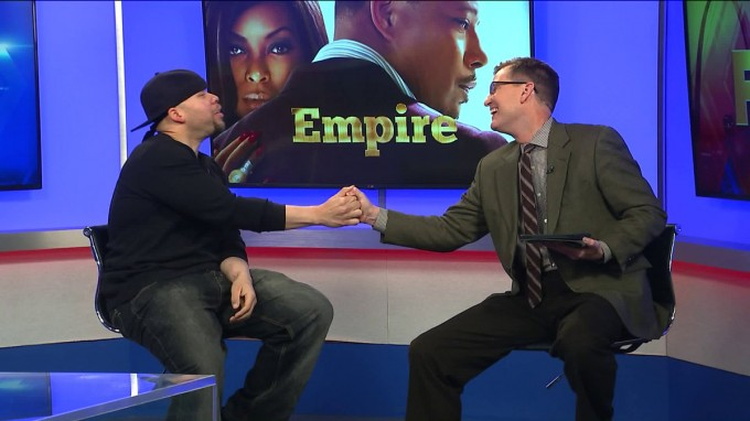 """""""Thanks to @REKKHAN for stopping by @FOX2now to talk @EmpireFOX"""""""